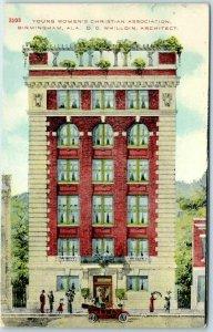 Alabama Postcard Young Women's Christian Association YWCA Boarding House 1910s