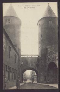 Interior Porte Des Allemande,Metz,France Postcard