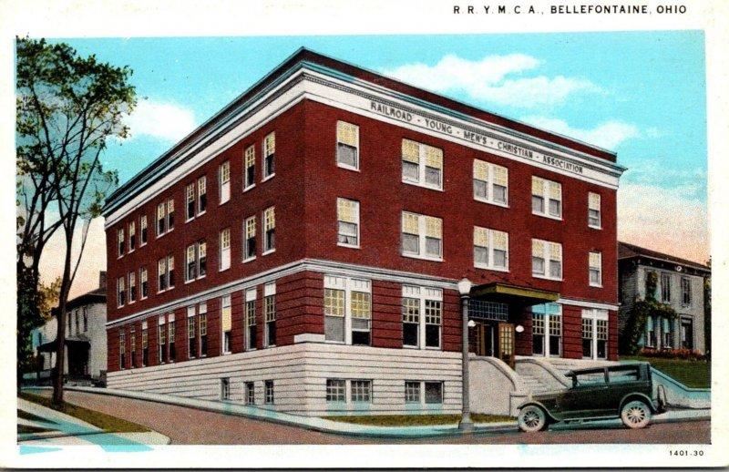 Ohio Bellefontaine Railroad Y M C A Building