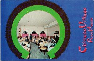 Nassau Bahamas Chinese Village Rice House Restaurant Unused Vintage Postcard G55