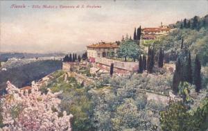Italy Fiesolw Villa Medici e Conventa di San Girolamo