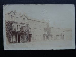 North Yorkshire MASHAM Market Place & Town Bank c1904 RP Postcard by J.B. Smith