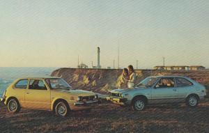 Two New 1977 Honda Automobiles, CVCC 5-speed & Accord