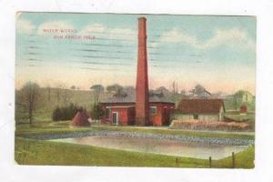 Water Works @ Ann Arbor,MI / Michigan 1909 PU
