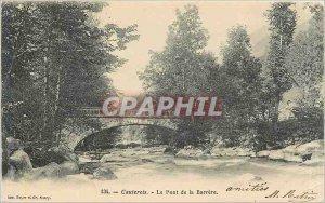Old Postcard Cauterets Bridge Barrere