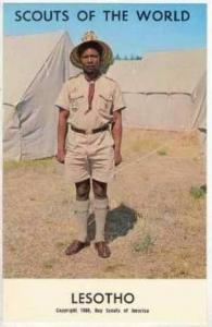 Boy Scouts of the World, LESOTHO SCOUTS, 1968