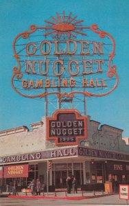 LAS VEGAS , Nevada, 1950-1960s; The Golden Nugget Casino