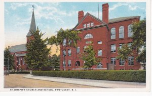 PAWTUCKET, Rhode Island, 00-10s; St. Joseph's Church and School