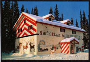 AK Santa Claus House Santa NORTH POLE ALASKA Postcard