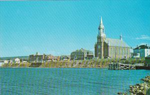 Canada Nova Scotia Cape Breton Eglise Street Pierre Cheticamp