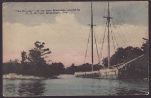The Britton,Sail Boat Postcard