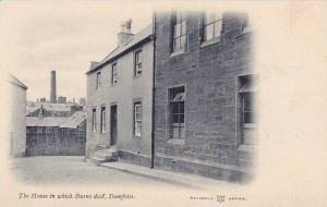 The House In Which Burns Died, Dumfries, Scotland, UK, 1900-1910s