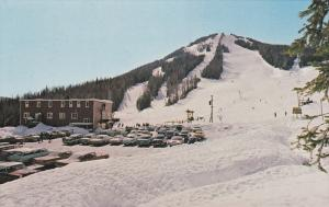 Ski slope , RED MOUNTAIN , Rossland , B.C.  , Canada , 50-60s #2