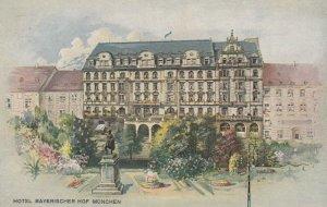 MUNCHEN, Bavaria, Germany, 1900-1910's; Hotel Bayerischer Hof
