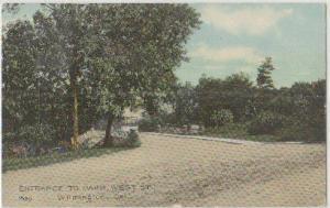 Entrance to Park West St Wilmington DE 1910