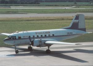 ROSSIJA, IL-14T, unused Postcard