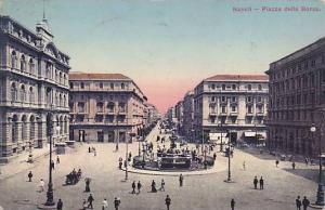 Piazza della Borsa, Napoli,  Italy ,PU-00-10s