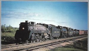 CANADIAN PACIFIC RAILWAY #2451 & #2706 DOUBLEHEADER