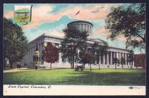 State Capitol Building Columbus OH unused c1910's