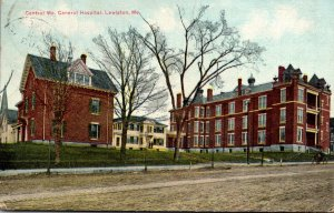 Maine Lewiston Central Maine General Hospital 1913