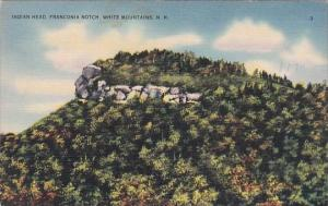 Indian Head Franconia Notch White Mountains New Hampshire