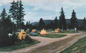 Camping Grounds At Ingonish, Cape Breton, Nova Scotia, Canada, 1940-1960s