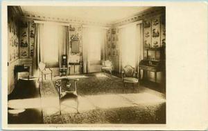NY - Albany. Schuyler Mansion, Hamilton Room    *RPPC