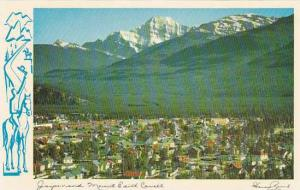 Mount Edith Cavell, Jasper Village, Jasper, Alberta, Canada, 40-60´s