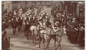 Berkshire; Royal Visit of King Edward VII & King of Spain RP PPC, Unused, 1905