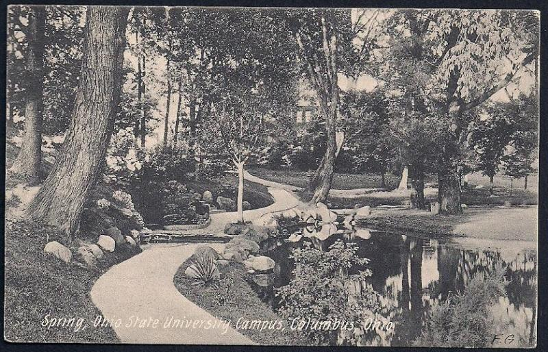 Spring Ohio State Univ Woods Campus Columbus OH Used 1907
