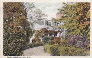 South Carolina Camden Holly Hedge 1923