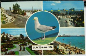 England Clacton-on-Sea Multi-view - posted 1972