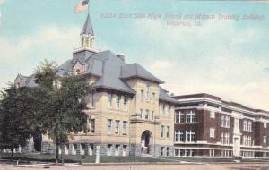 East Side High School and Manual Training Building,Waterloo,Iowa,PU-1912
