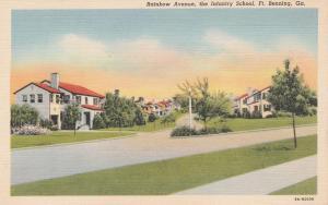 Rainbow Avenue - Infantry School - Fort Benning GA, Georgia - Linen