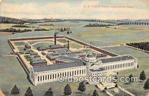 US Federal Prison Leavenworth, Kansas USA Prison Postcard Post Card Leavenwor...