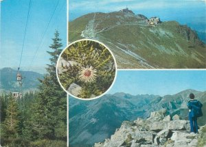 Post card Western Tatras Slovakia various sights and aspects