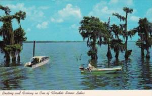 Boating and Fishing In One Of Florida's Scenic Lakes