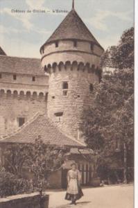 Switzerland Chateau de Chillon L'Entree