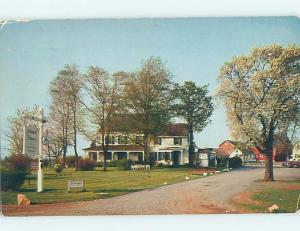 Pre-1980 COLONIAL FARMS RESTAURANT Middlebush New Jersey NJ d1422