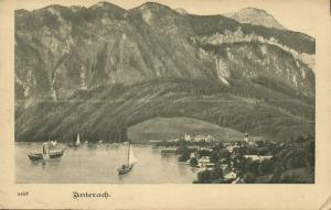 austria, UNTERACH am Attersee, Panorama (1899)