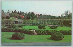 Wilmington Delaware~Longwood Gardens~Vintage Postcard