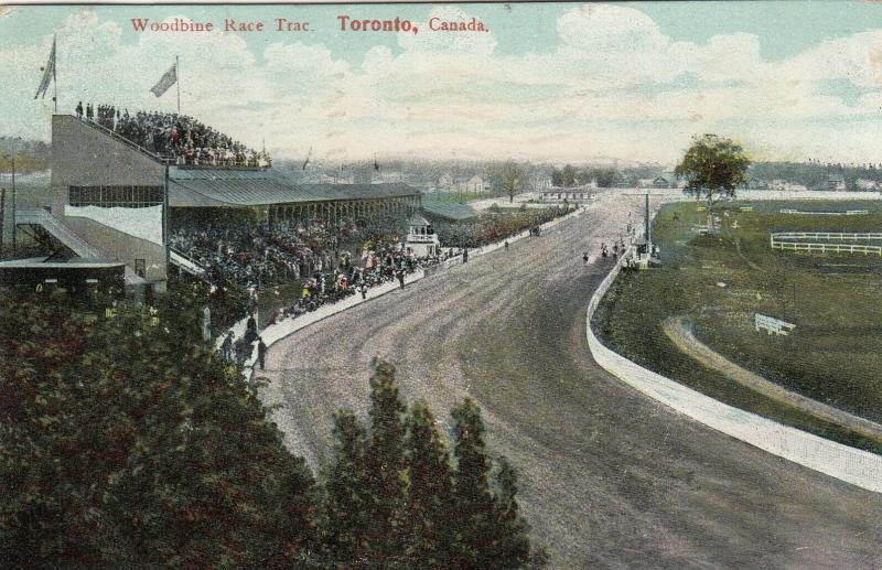 TORONTO, Ontario , 1907 ; Woodbine Horse Race Track ; Version-2