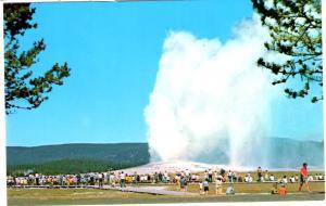 SEAICH ES-557, Old Faithful Geyser,, Yellowstone National Park