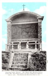Virginia Jamestown Island Rev Robert Hunt Memorial Shrine