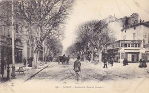 NIMES, Gard, France, 1900-1910´s; Boulevard Amiral Courbet