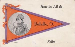 Ohio How Iss All De Bellville Folks 1914 Pennant Series