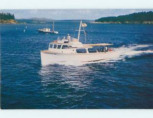 Pre-1980 NAMED BOAT Bar Harbor Maine ME hp7987-12