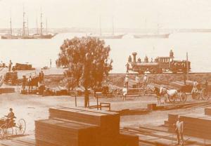 CA - San Diego Harbor - Reproduced Photo of 1880's Scene
