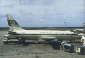Aer Lingus A320 Plane at Shannon Irish Airport Limited Edition of 300 Postcard