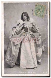 Old Postcard Fantasy Theater Woman Cleo de Merode Opera